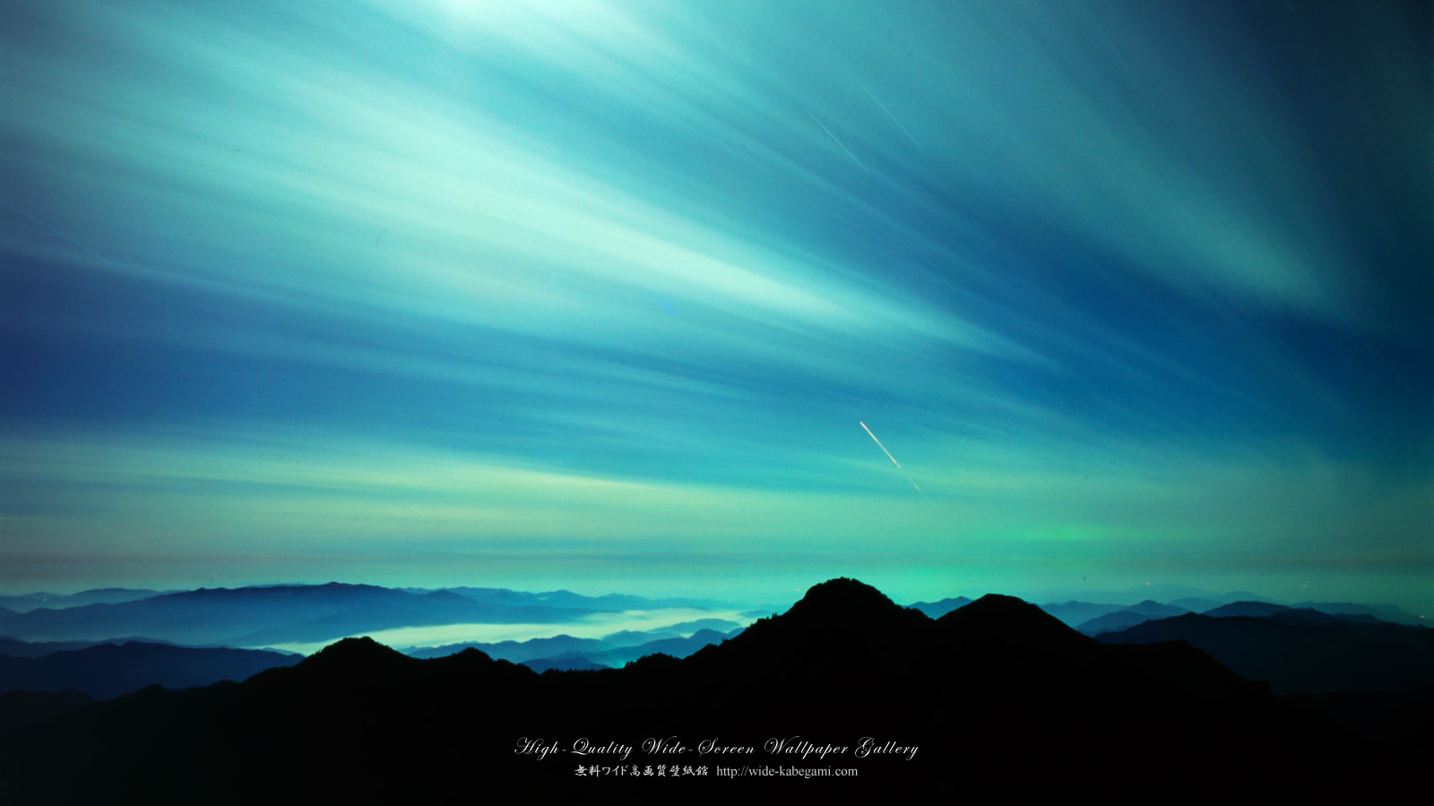 自然風景のワイド壁紙 1600x900 月光 無料ワイド高画質壁紙館